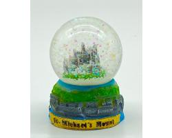 St Michael's Mount Snow Globe