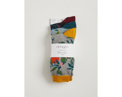 Winter Fruits bamboo socks - pack of 3