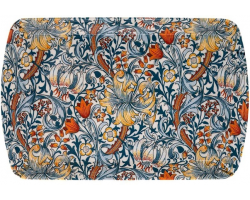 William Morris Golden Lily Melamine Small Snack Tray