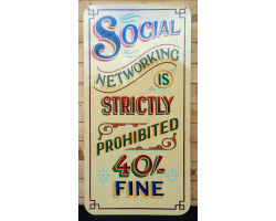 Social Networking sign