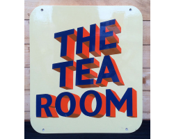The Tea Room sign