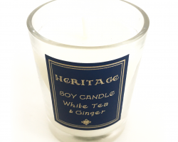 Chester Heritage Scented Soy Tea Candle