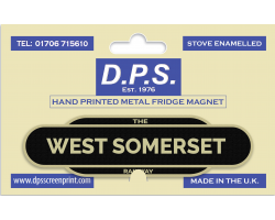 West Somerset Railway Fridge Magnet
