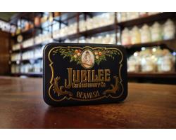 Liquorice Satin Sweets in Jubilee Tin Image