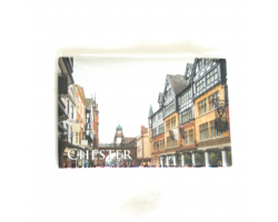 Chester Eastgate Street Photographic Magnet