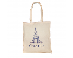 Chester Logo Tote Bag