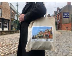 1900s Town Street Tote Bag