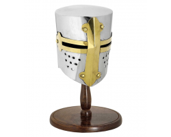 Tournament Helmet with stand