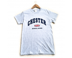 Chester T-Shirt - Heather Grey - Large