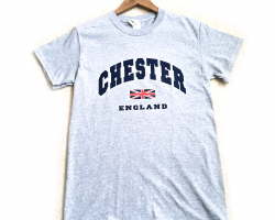 Chester T-Shirt - Heather Grey - Small