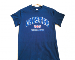Chester T-Shirt - Navy - Large