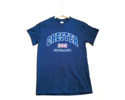 Chester T-Shirt - Navy - Small Image