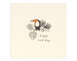 Birthday Toucan greetings card