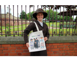 Alison Gardiner - Votes for Women Tote Bag