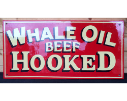 Whale Oil sign