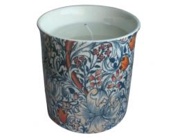 Boxed Fine China Vanilla Scented Candle