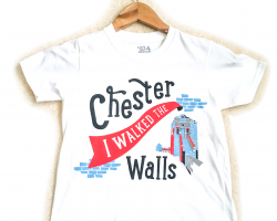 """""""I Walked the Walls"""" T-shirt - Child's Small"""