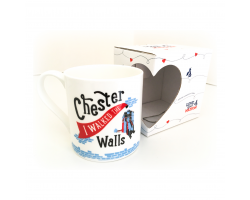 """I Walked the Walls"" Mug"