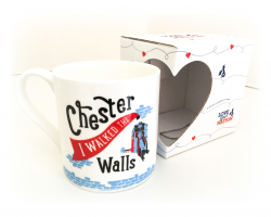"""I Walked the Walls"" Mug"