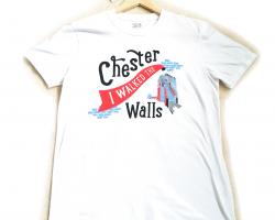 """I Walked the Walls"" T-shirt - Medium"