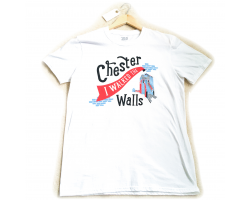"""I Walked the Walls"" T-shirt - Small Image"