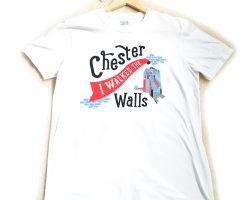 """I Walked the Walls"" T-shirt - Small"
