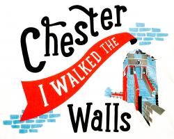 """I Walked the Walls"" T-shirt - Child's Large"
