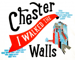 """I Walked the Walls"" T-shirt - XL"