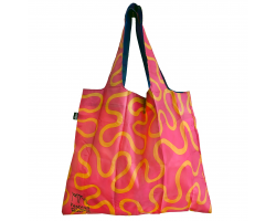 Zandra Rhodes Wiggle Foldable Shopper Image