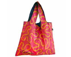 Zandra Rhodes Wiggle Foldable Shopper