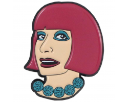 Zandra enamel pin badge