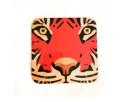 Nicky Thompson Chester Zoo Coaster - Tiger