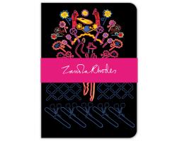 Zandra Rhodes Mr Man deluxe notebook